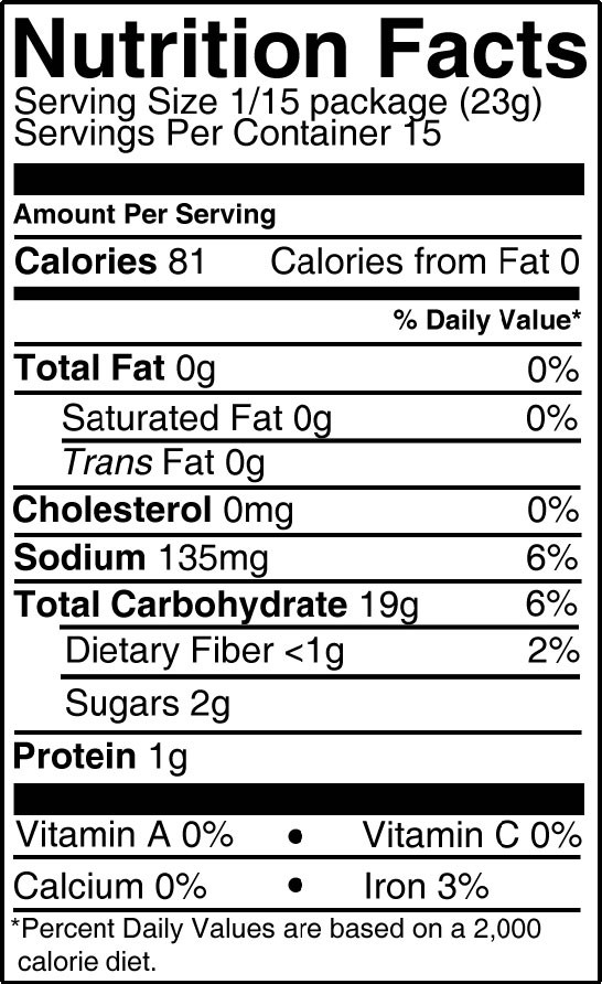 White Bread Nutrition Facts  The gallery for Sunbeam White Bread