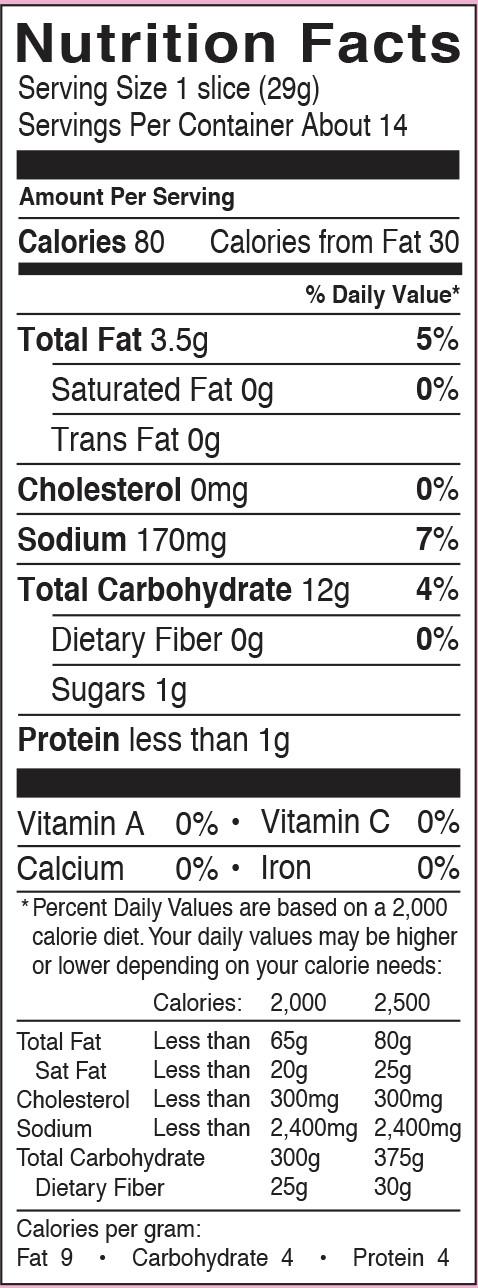 White Bread Nutrition Facts  Gluten Free White Bread