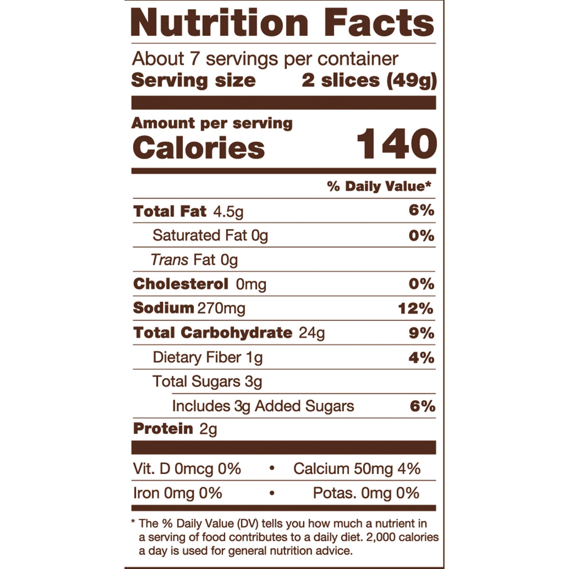 White Bread Nutrition Facts  Delicious Soft White Sandwich Bread 12 oz