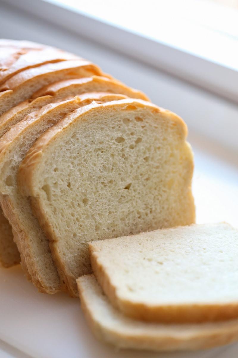 White Bread Recipe  Soft White Sandwich Bread