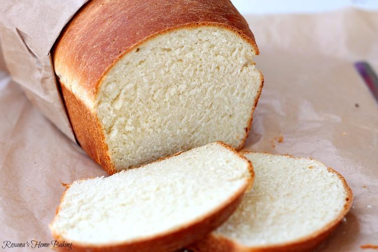 White Bread Recipe  White sandwich bread recipe