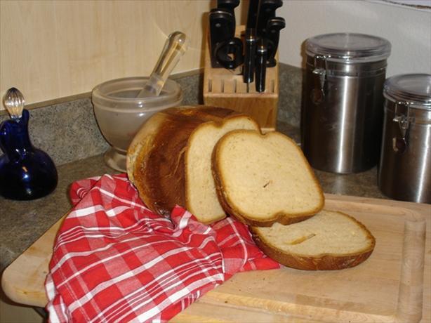White Bread Recipe For Bread Machine  Sweet Honey White Bread bread Machine Recipe Healthy