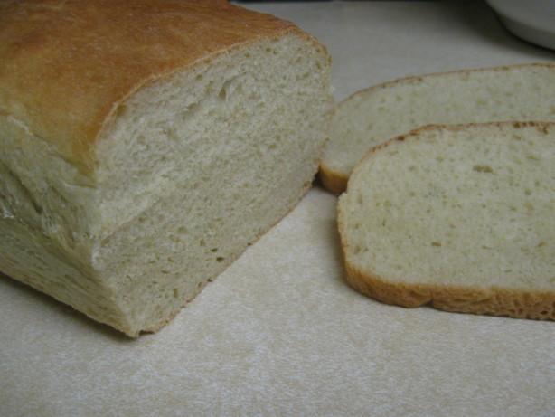 White Bread Recipe For Bread Machine  Fluffy White Bread Bread Machine Recipe Food