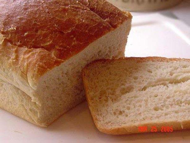 White Bread Recipe For Bread Machine  oster bread machine recipes white bread