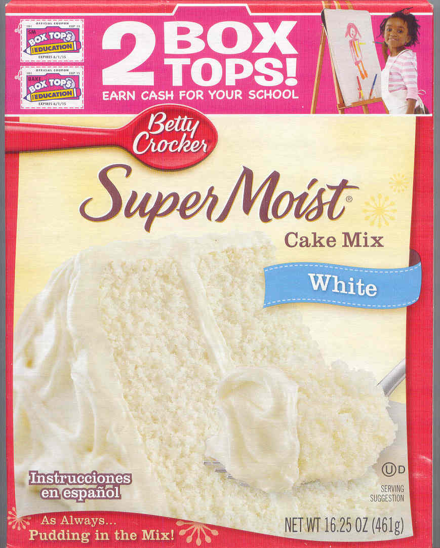 White Cake Mix  gold country girls Then And Now 84 Betty Crocker White