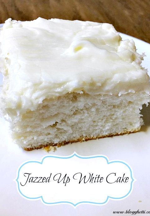 White Cake Mix Recipes  Cookies cupcakes and cardio rainbow cake in a jar recipe