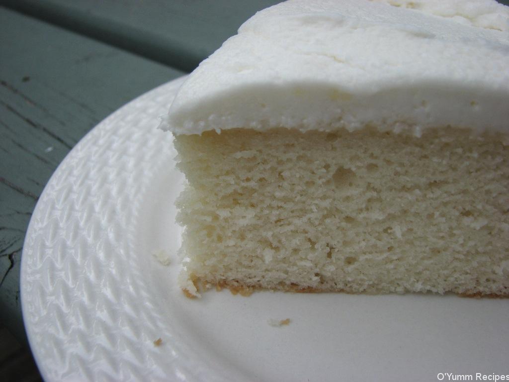 White Cake Mix Recipes  White Almond Wedding Cake Recipe