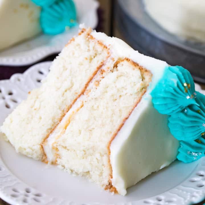 White Cake Mix Recipes  The Best White Cake Recipe Sugar Spun Run