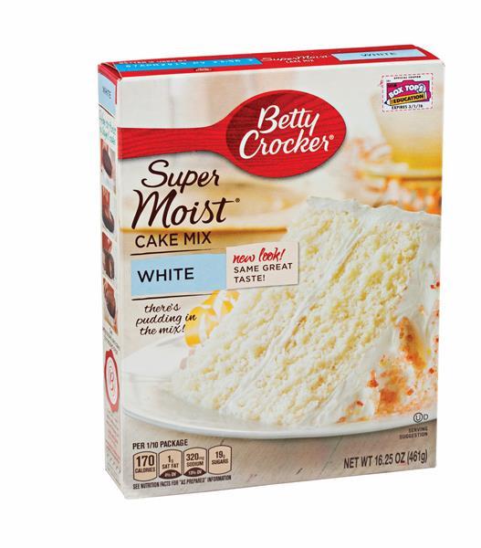 White Cake Mix  Betty Crocker Super Moist White Cake Mix