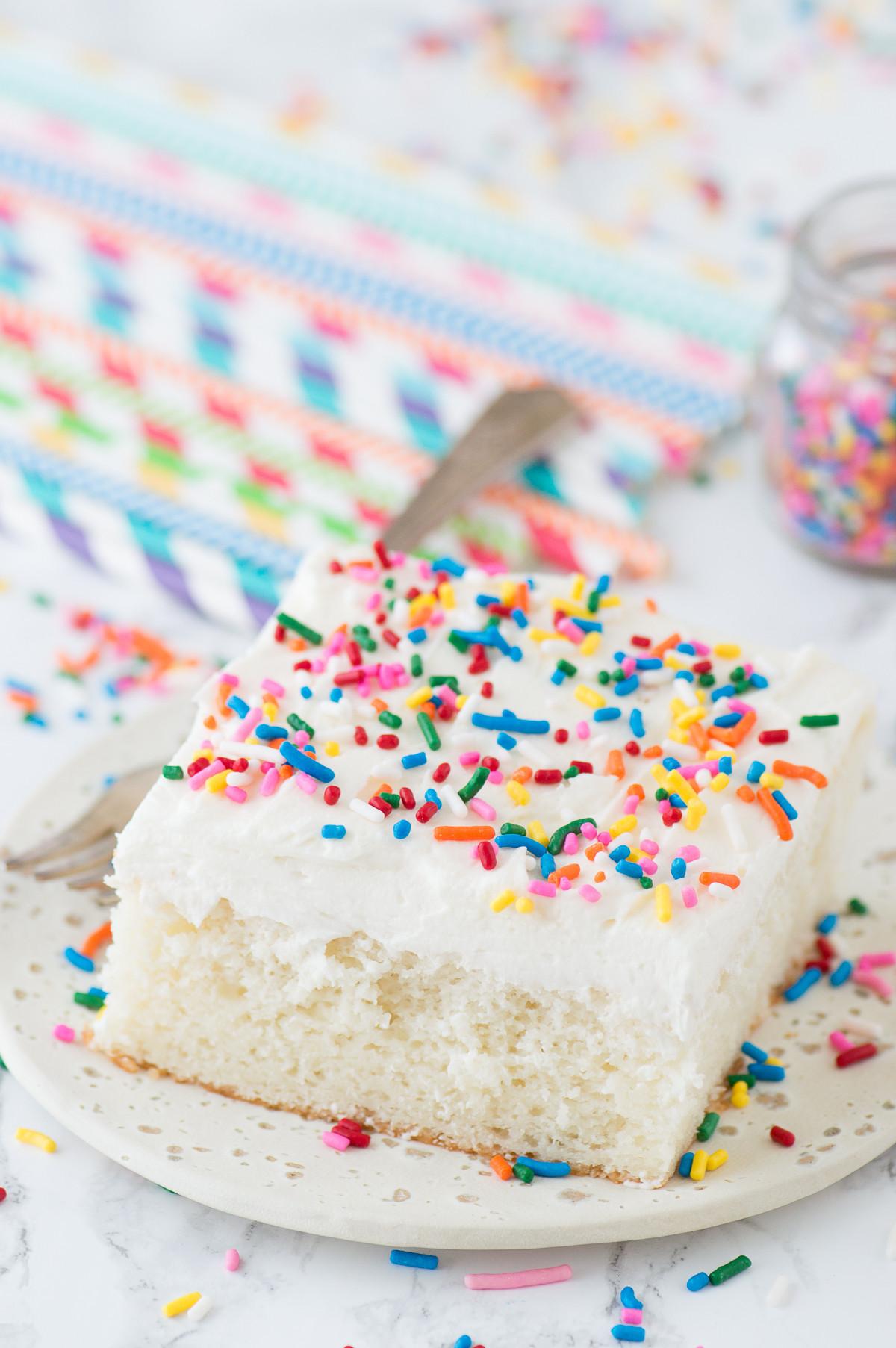 White Cake Mix  Doctored Up White Cake Mix