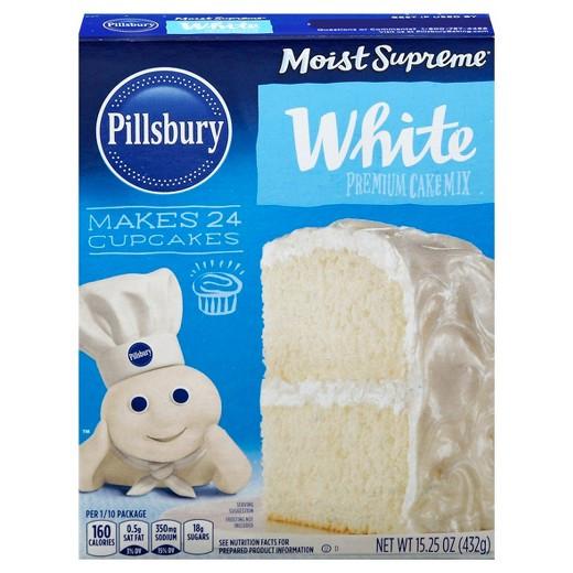 White Cake Mix  Pillsbury White Cake Mix 15 25oz Tar