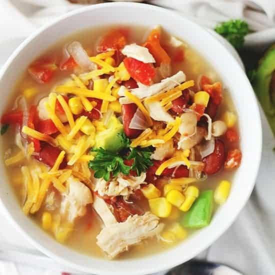 White Chicken Chili Crockpot  Crock Pot White Chicken Chili Recipe