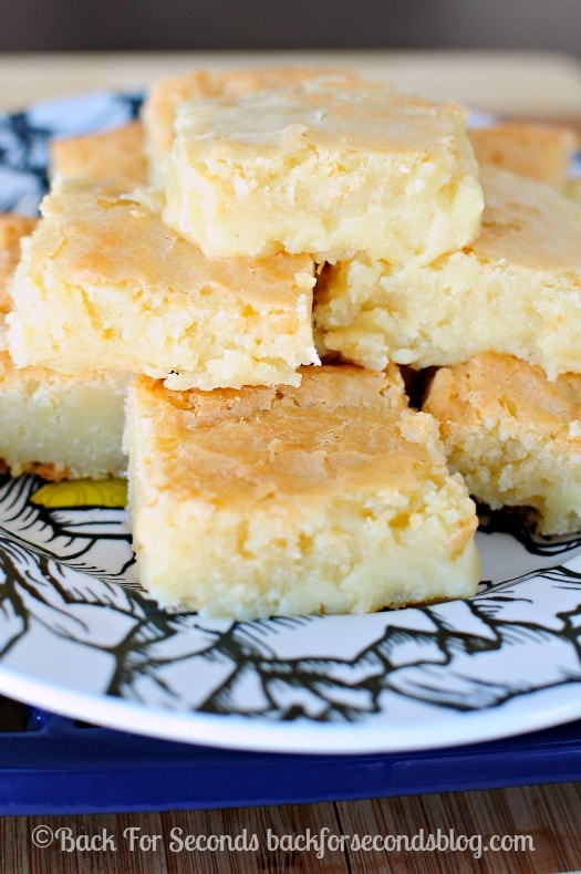White Chocolate Brownies  Fudgy White Chocolate Brownies Back for Seconds