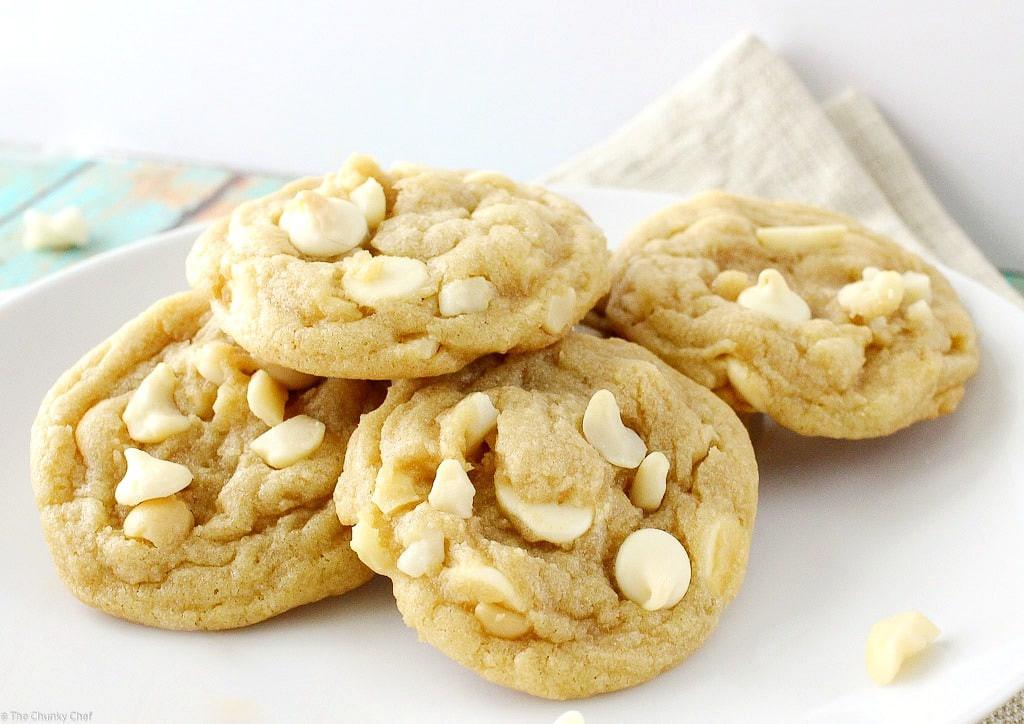 White Chocolate Chip Macadamia Nut Cookies  White Chocolate Macadamia Nut Cookies The Chunky Chef