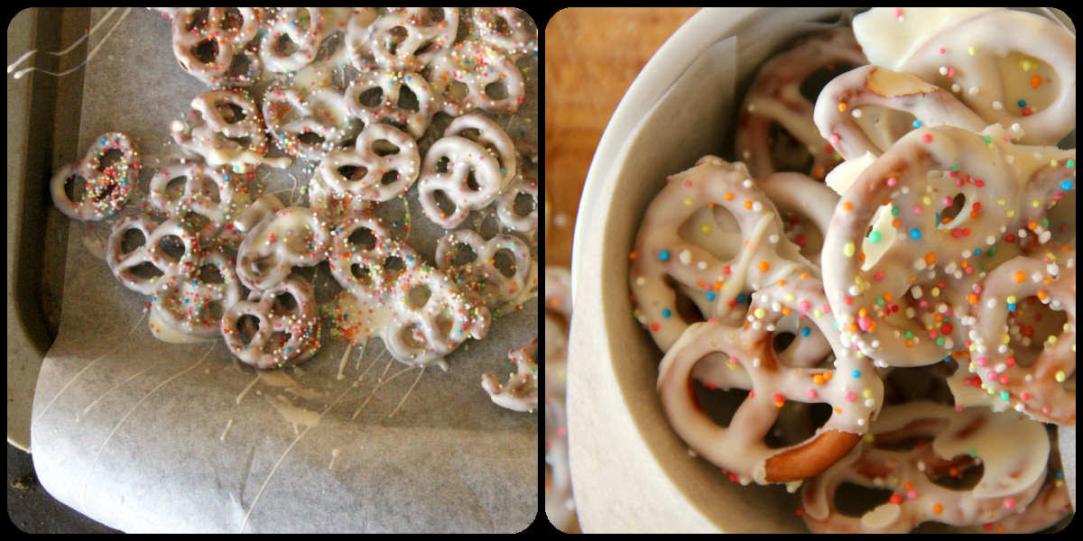 White Chocolate Covered Pretzels  My Happy Place White Chocolate Covered Pretzels