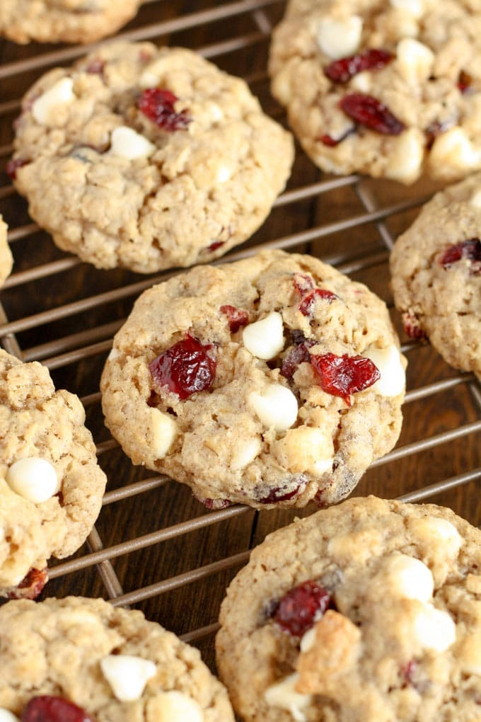 White Chocolate Cranberry Oatmeal Cookies  White Chocolate Cranberry Oatmeal Cookies Live Well Bake
