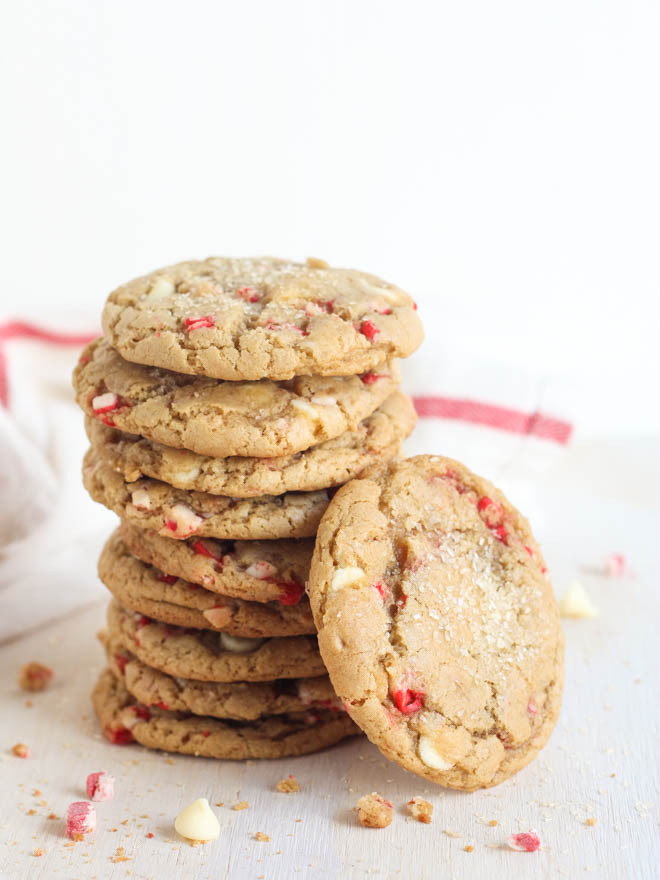 White Chocolate Peppermint Cookies  White Chocolate Peppermint Cookies pletely Delicious