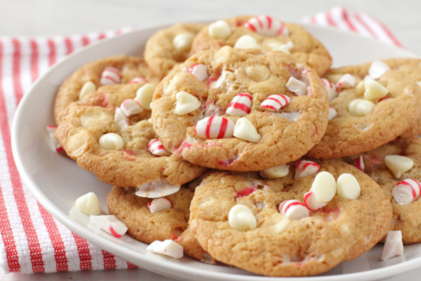 White Chocolate Peppermint Cookies  White Chocolate Peppermint Cookies Recipe Food