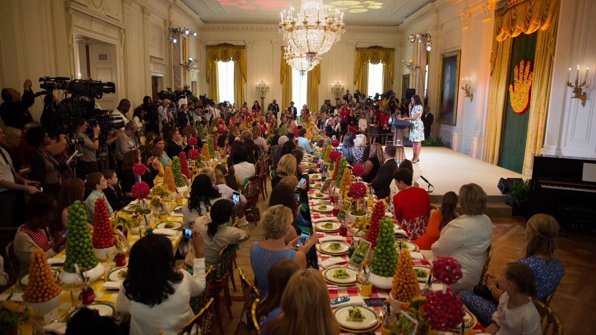 White House State Dinner  The 2016 Healthy Lunchtime Challenge is Here