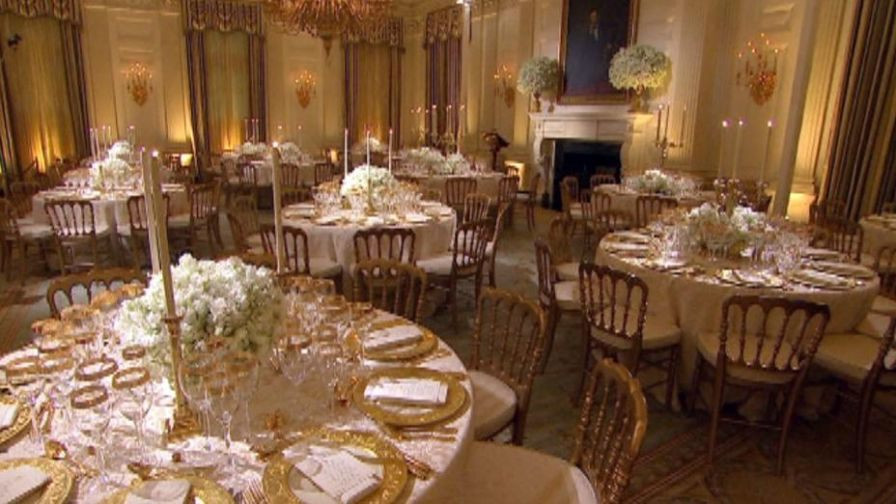 White House State Dinner  The White House state dinner Diplomacy through flowers