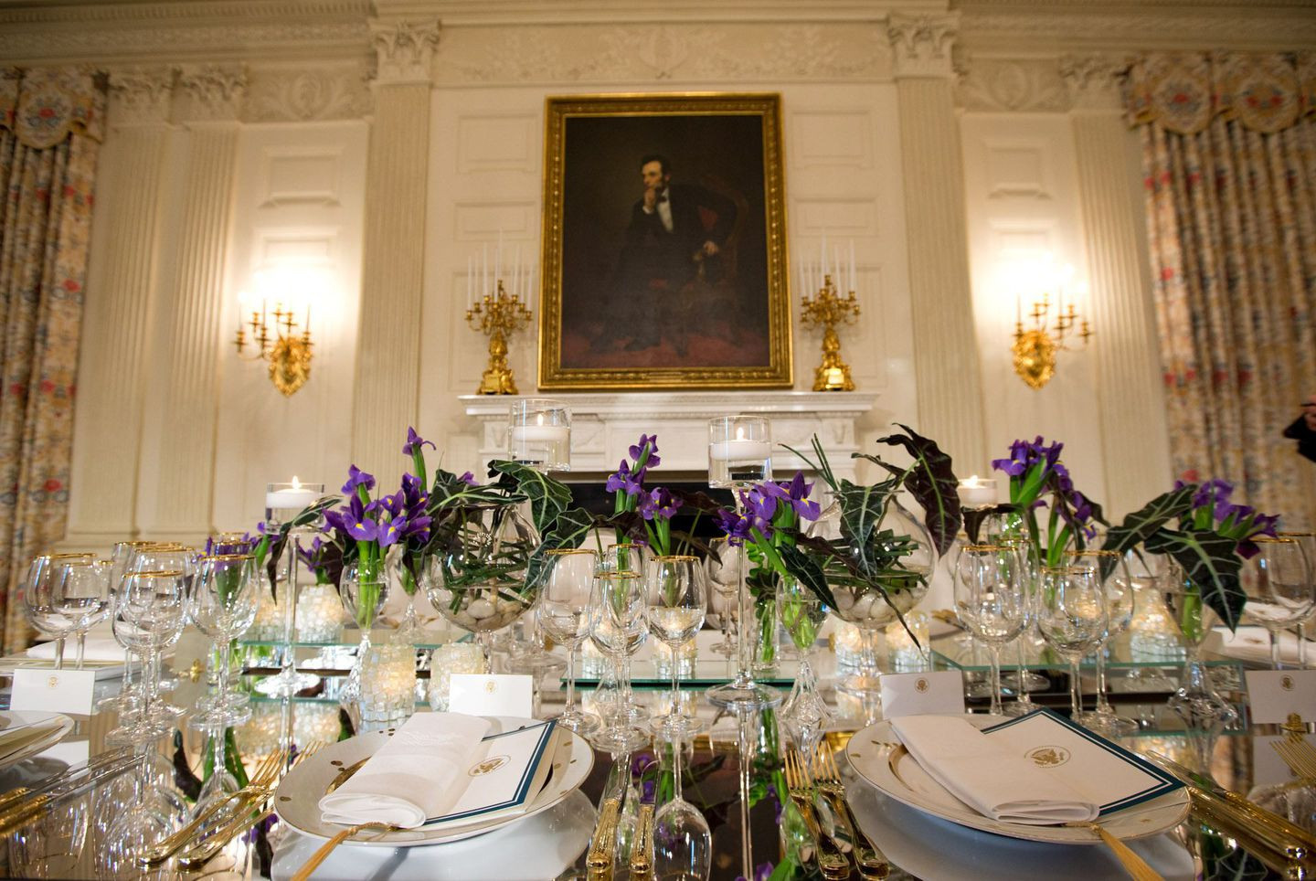 White House State Dinner  Actors Presidents Politicians Rub Elbows at White House