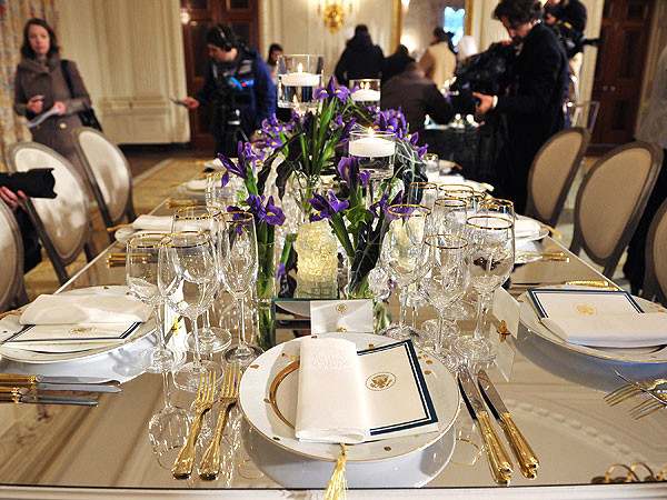 """White House State Dinner  Behold the """"Warrior For the Middle Class"""" in All of His"""