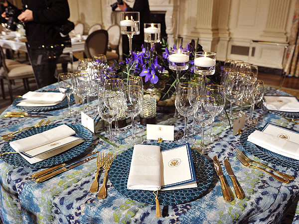 White House State Dinner  Michelle Obama & White House Reveal All American Menu for