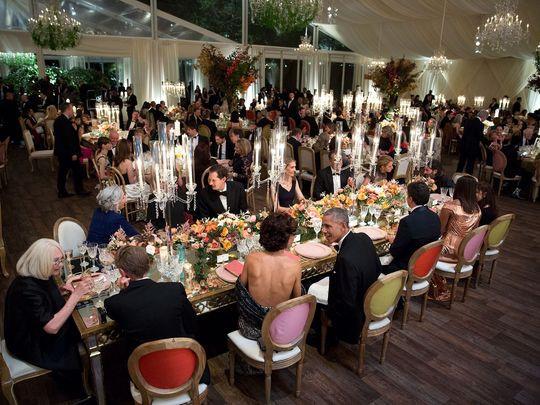 White House State Dinner  For Detroiter Denise Ilitch Obama state dinner was