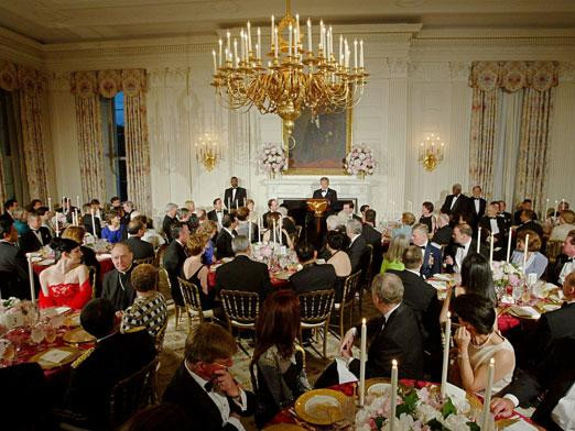 White House State Dinner  Who Chooses The Wines For ficial White House State
