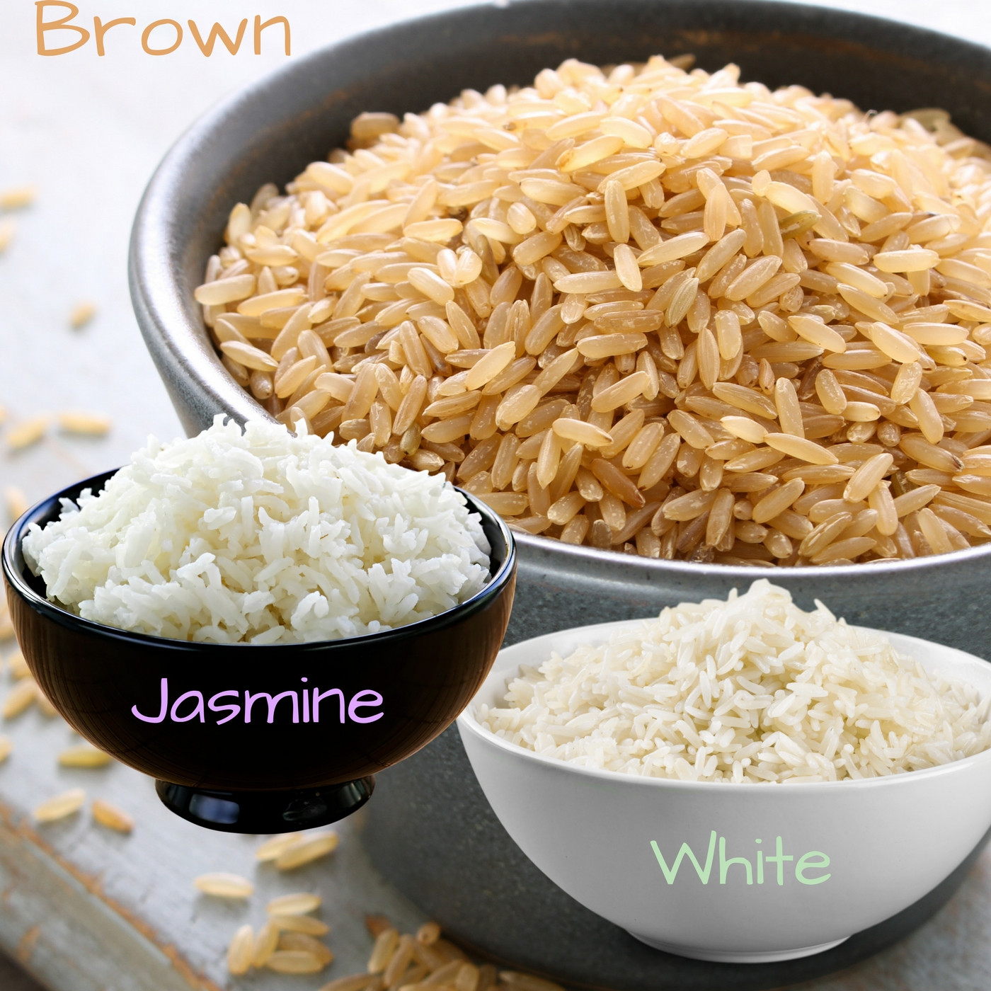 White Or Brown Rice  Brown Rice VS White Rice Which e is Really Better For