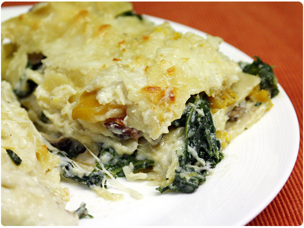 White Vegetable Lasagna  Ve able Lasagna with White Sauce