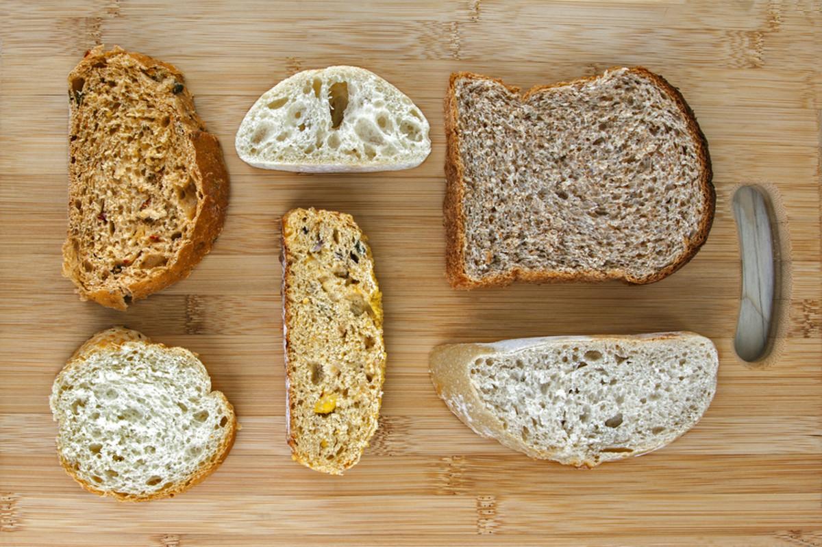 White Whole Wheat Bread  White Bread vs Wheat Bread