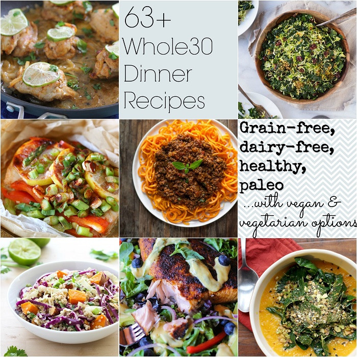 Whole 30 Dinner  63 Whole30 Dinner Recipes & the difference between