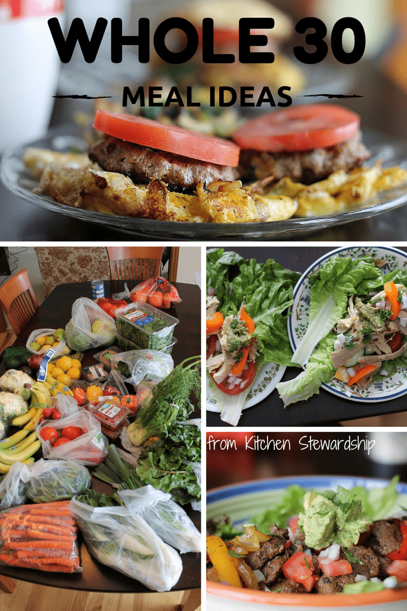 Whole 30 Dinner  Whole 30 and Anti Cavity Meal Plan and Recipes