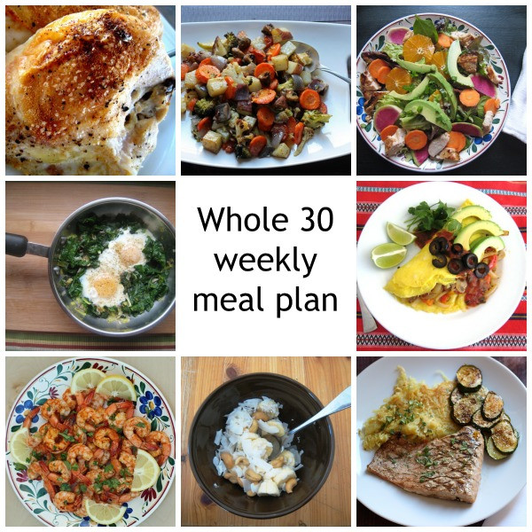 Whole 30 Dinner  Whole 30 Weekly Meal Plan