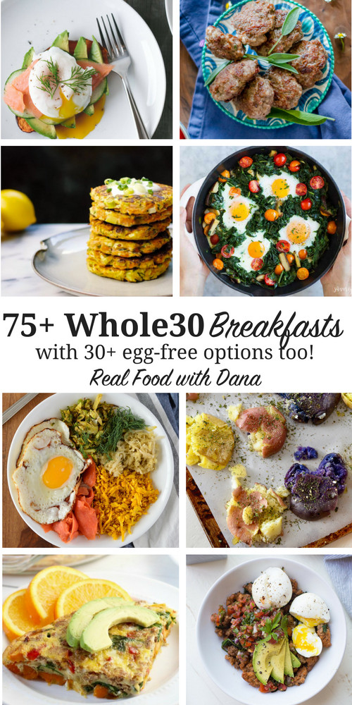 Whole 30 Recipes Breakfast  75 Whole30 Breakfast Recipes with Egg Free AIP Options