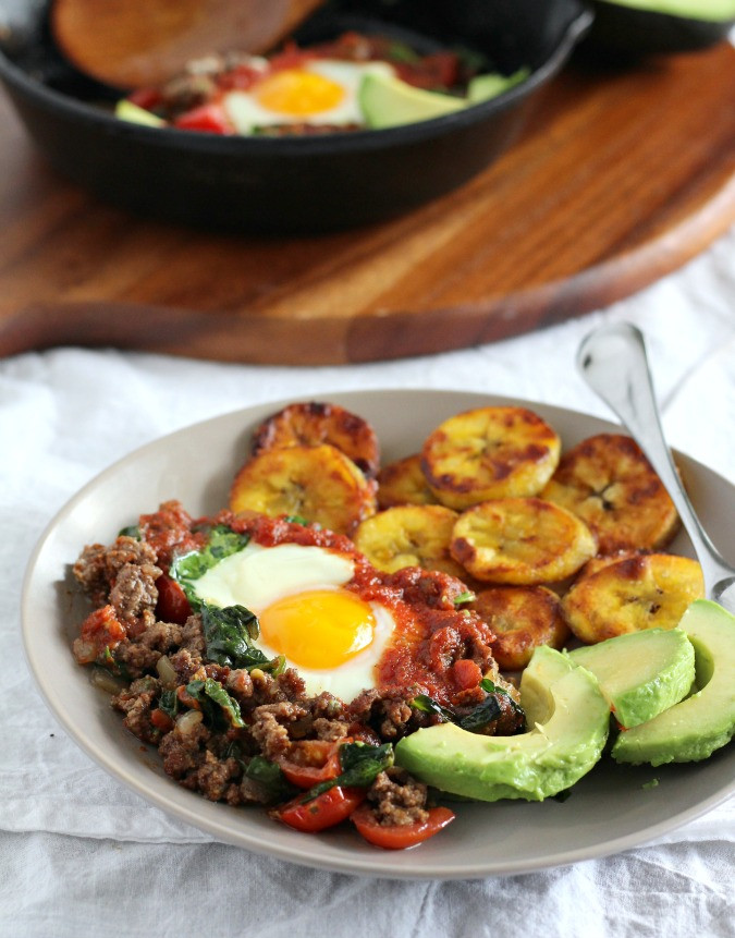 Whole 30 Recipes Breakfast  Chipotle Taco Breakfast Skillet Bake Paleo & Whole30