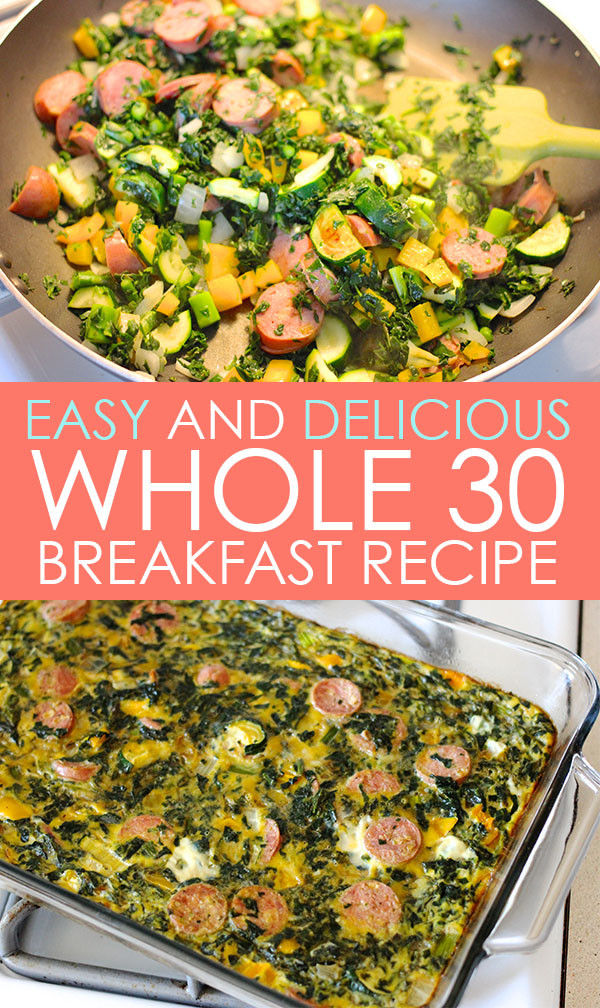 Whole 30 Recipes Breakfast  Easy and Delicious Breakfast that Saved Me on the Whole 30