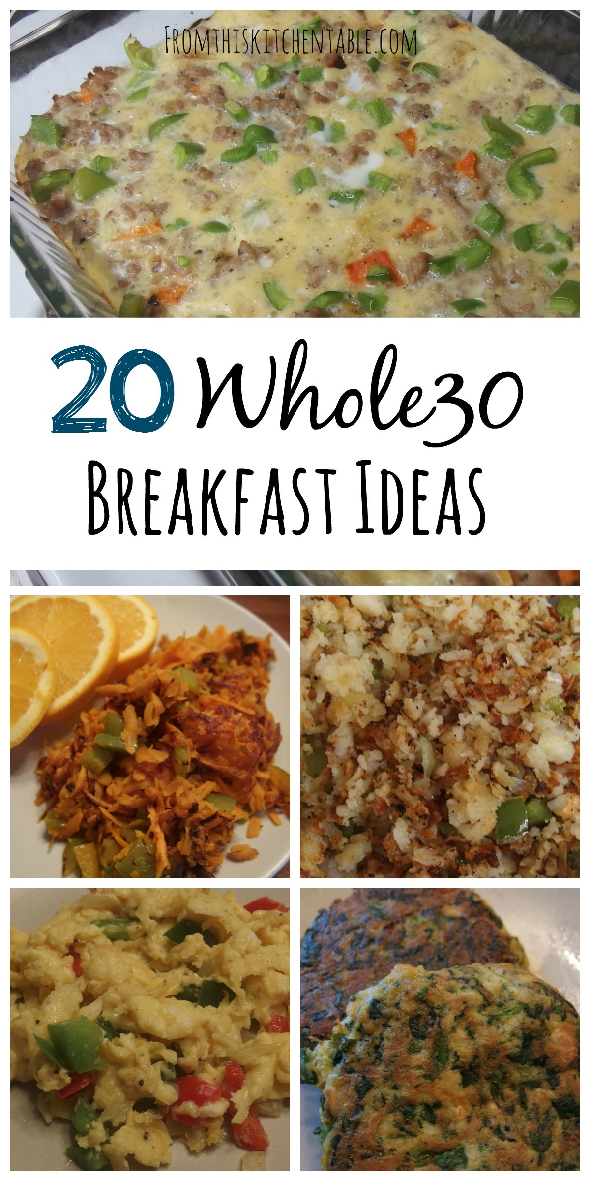Whole 30 Recipes Breakfast  Whole30 Soup Recipes From This Kitchen Table