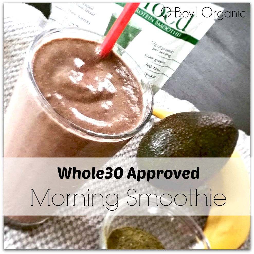 Whole 30 Smoothies  Whole30 Approved Breakfast Smoothie