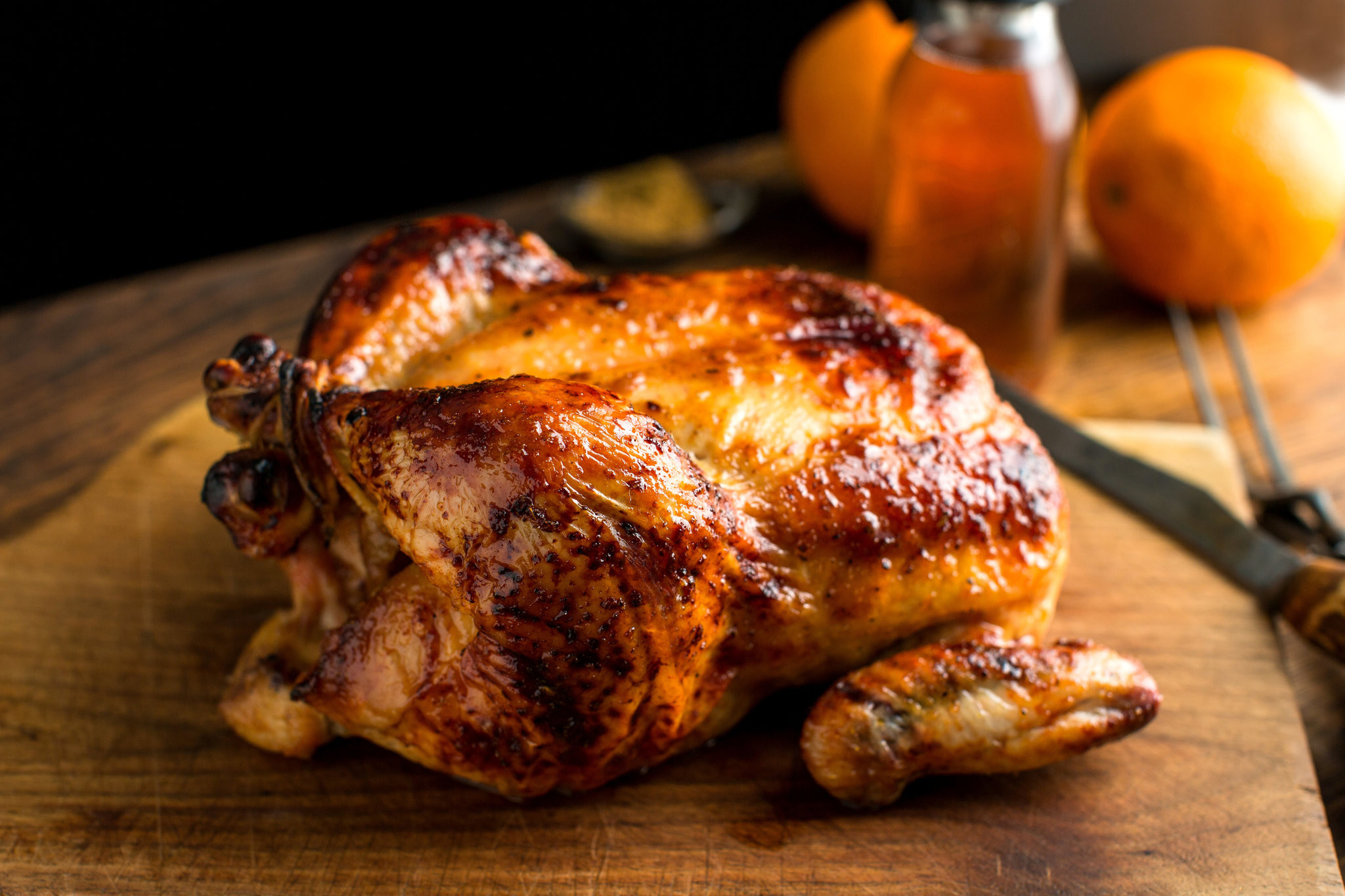 Whole Chicken Cooking Time  Roast Chicken With Cumin Honey and Orange Recipe NYT