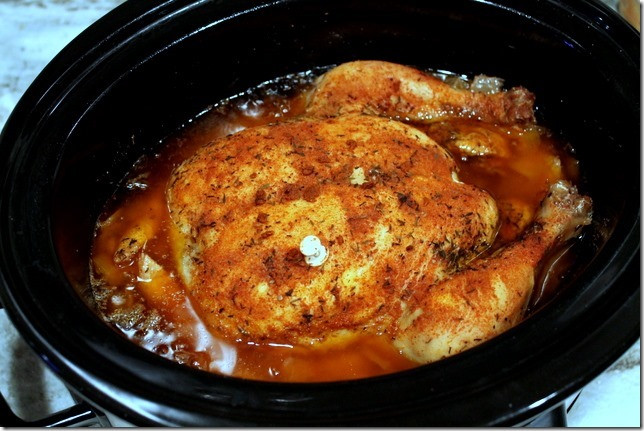 Whole Chicken Crock Pot Recipe  Easy Crockpot Whole Chicken Sweet Tooth Sweet Life