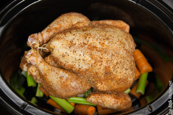 Whole Chicken Crock Pot Recipe  Recipe For Disaster Slow Cooker Chicken
