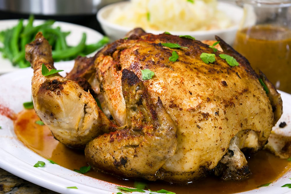 Whole Chicken In Pressure Cooker  Whole Chicken Pressure Cooker Recipe Using The Instant Pot