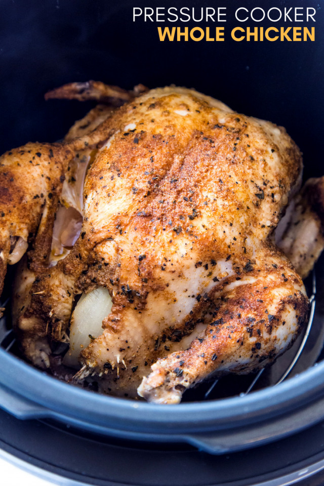 Whole Chicken In Pressure Cooker  The Perfect Weekly Crock Pot Express Crock Multi Cooker