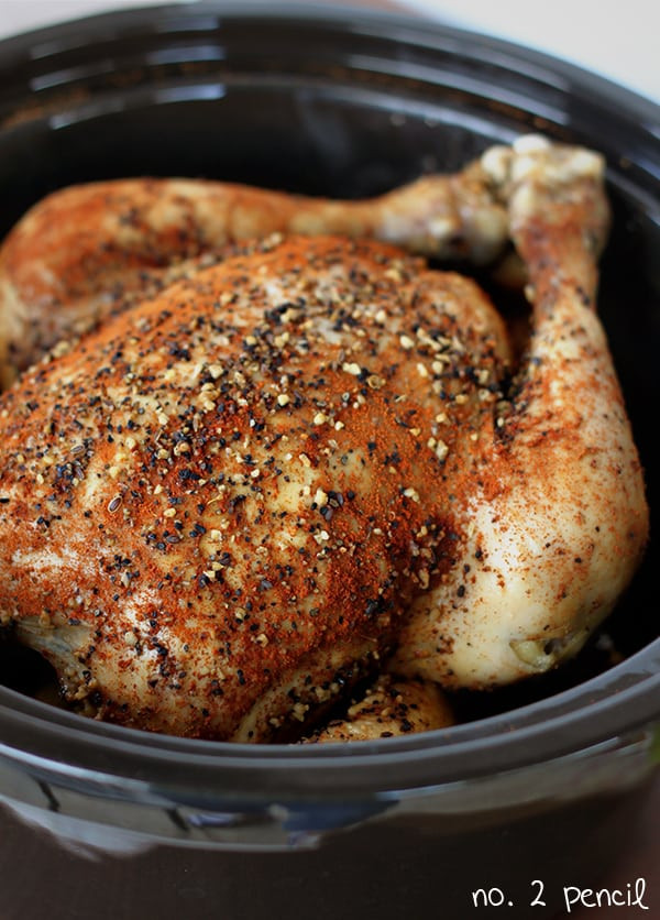 Whole Chicken In The Crock Pot  slow cooker whole chicken frozen