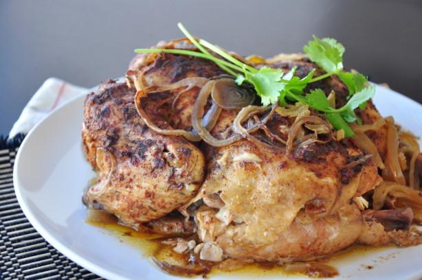 Whole Chicken In The Crock Pot  Crock Pot Whole Chicken Recipe Food