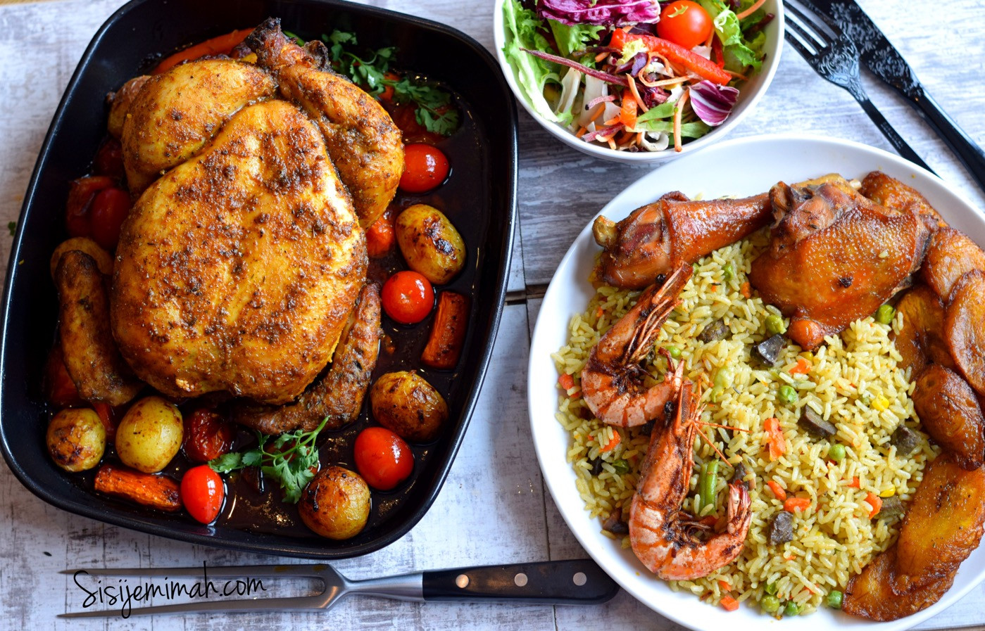 Whole Chicken Recipes  Oven Roasted Whole Chicken Recipe Sisi Jemimah