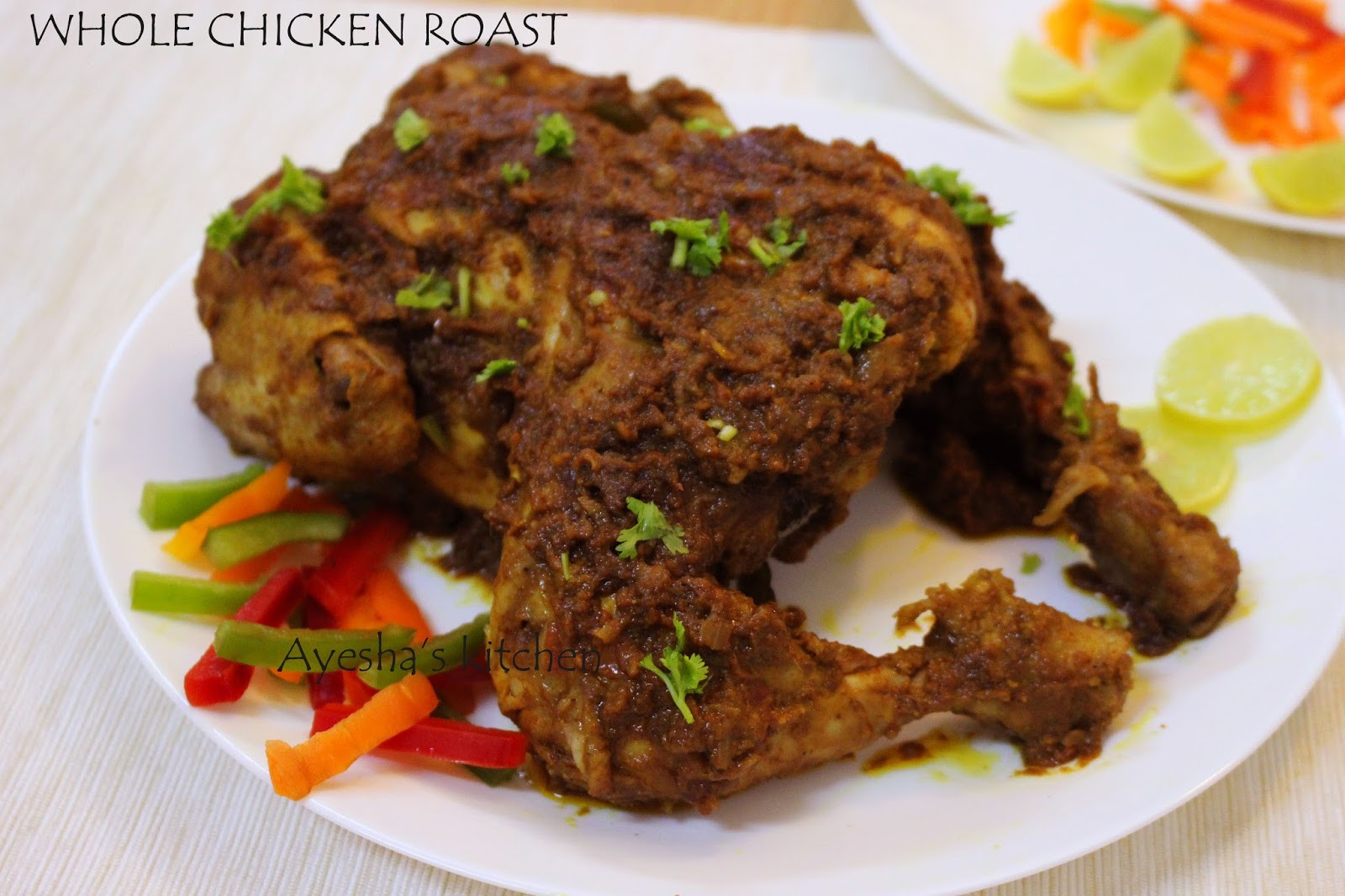 Whole Chicken Recipes  ROASTED WHOLE CHICKEN NO BAKING RECIPE