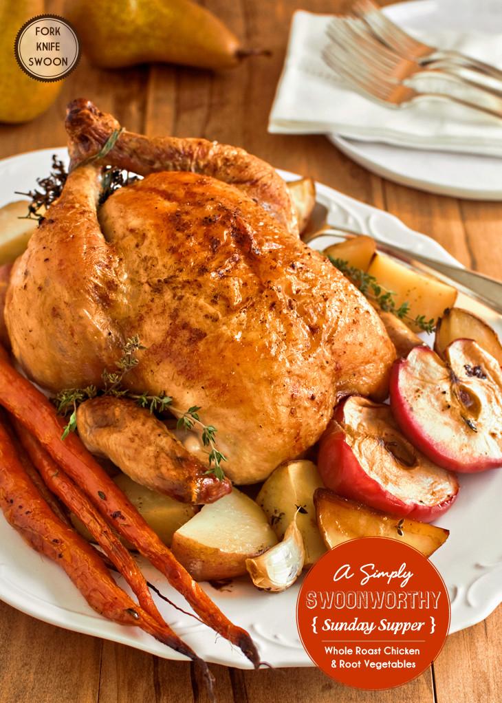 Whole Chicken Recipes  Basic Whole Roasted Chicken Recipe — Dishmaps